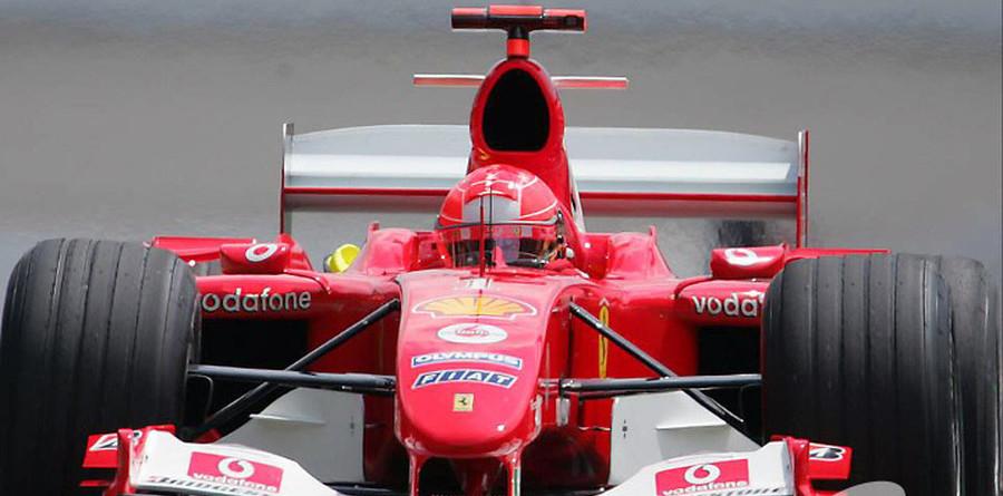 Schumacher takes #8 at US GP