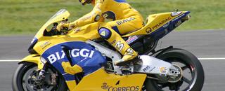 MotoGP Biaggi wins German GP at the Sachsenring