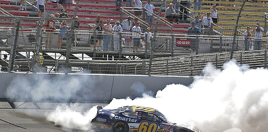 BUSCH: Biffle holds off Mears for Fontana win