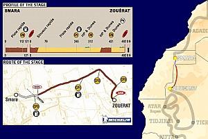 Dakar Dakar: Stage 6 Smara to Zouerat notes
