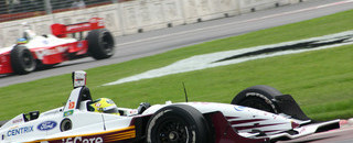 IndyCar CHAMPCAR/CART: Junqueira plays waiting game for Monterrey victory