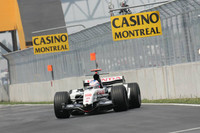 Button takes surprise pole position for Canadian GP