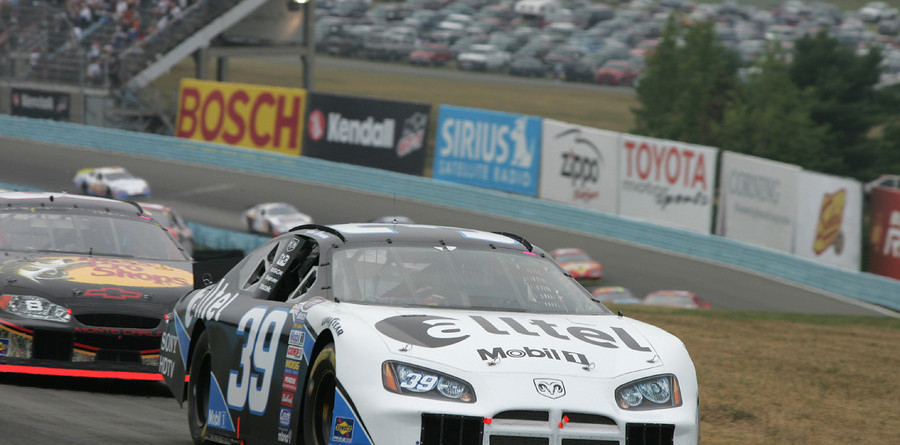 BUSCH: Newman claims soggy win at Watkins Glen