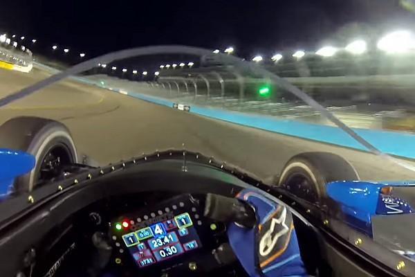 VÍDEO: Veja onboard na altura dos olhos com aeroscreen