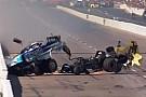 NHRA Взрыв и авария с соперником: на гонке дрэгстеров всё пошло не так