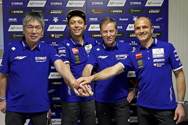 Rossi renueva con Yamaha por dos años más
