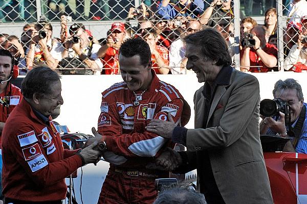 Fórmula 1 Últimas notícias Montezemolo: Marchionne tem inveja de glórias da Ferrari