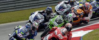 MotoGP Capirossi wins the race, Rossi the championship