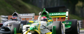 A1GP Nelson Piquet takes the double for Brazil
