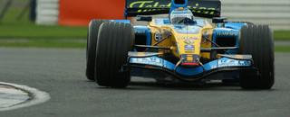 Formula 1 Piquet fastest at Silverstone test