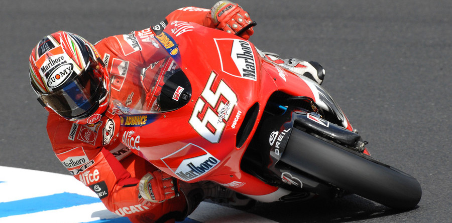 Capirossi on Japanese GP pole, looking to repeat