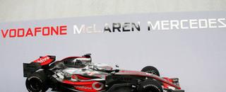 Formula 1 McLaren presents the MP4-22 in Valencia
