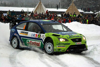 Hirvonen takes snowy Rally Norway victory