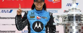IndyCar Patrick makes history with Motegi victory