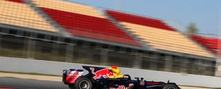 Formula 1 Red Bull's Vettel again tops Barcelona test