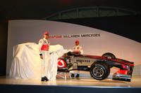 McLaren Mercedes debuts the 2010 MP4-25
