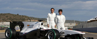 Formula 1 BMW Sauber launches C29 challenger in Spain