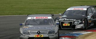 DTM Spengler extends points lead with Lausitz victory
