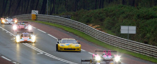 Le Mans Kristensen hits barriers, more woes for Audi