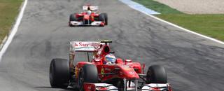 Formula 1 Massa gives Alonso German GP in Ferrari 1-2