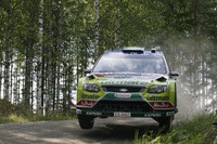 Ford's Latvala leads Citroens in Rally Finland