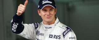 Formula 1 Hulkenberg is surprise pole winner in Brazil
