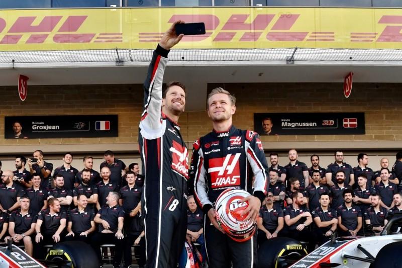 Haas staunt über eigene Piloten: