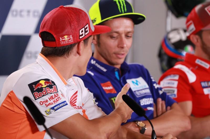 Valentino Rossis Mutter: Rivalität mit Marc Marquez