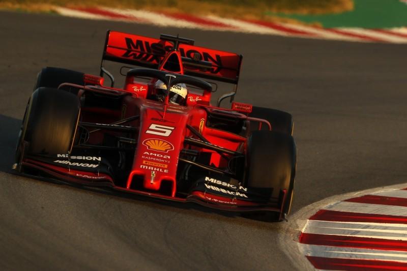 Formel-1-Tests 2019: Nur 0,003 Sekunden zwischen Ferrari und Mercedes!