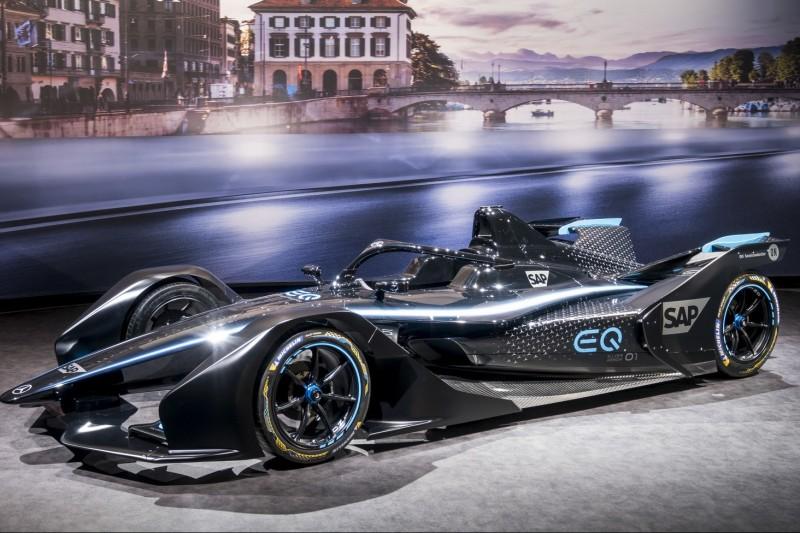 Mercedes EQ Silver Arrow 01: Erstes Design für die Formel E 2019/20
