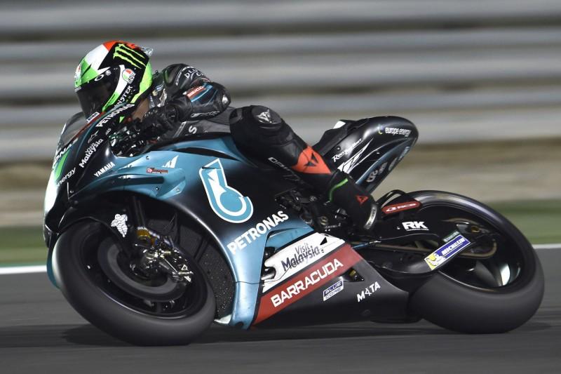 Franco Morbidellis Yamaha ähnlich der Werks-M1 von Valentino Rossi