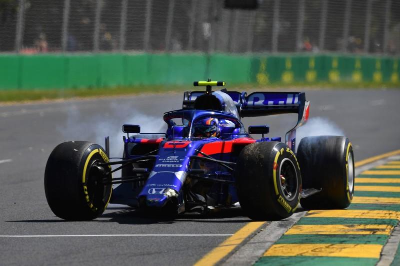 Toro Rosso baut ersten Crash: Kuriose Probleme bei Rookie Alexander Albon