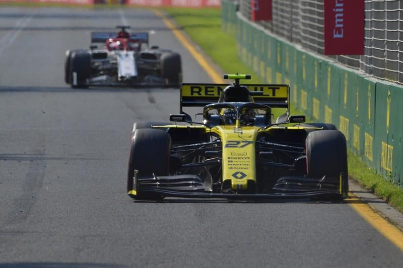 Nico Hülkenberg: Ricciardo im Griff, aber trotzdem nicht zufrieden