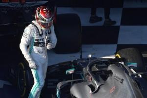 Lewis Hamilton nach P2: