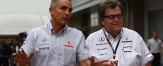 Formula 1 McLaren not ruling out own engine for F1 - Whitmarsh