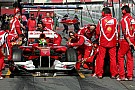 Ferrari Barcelona test report 2011-03-09