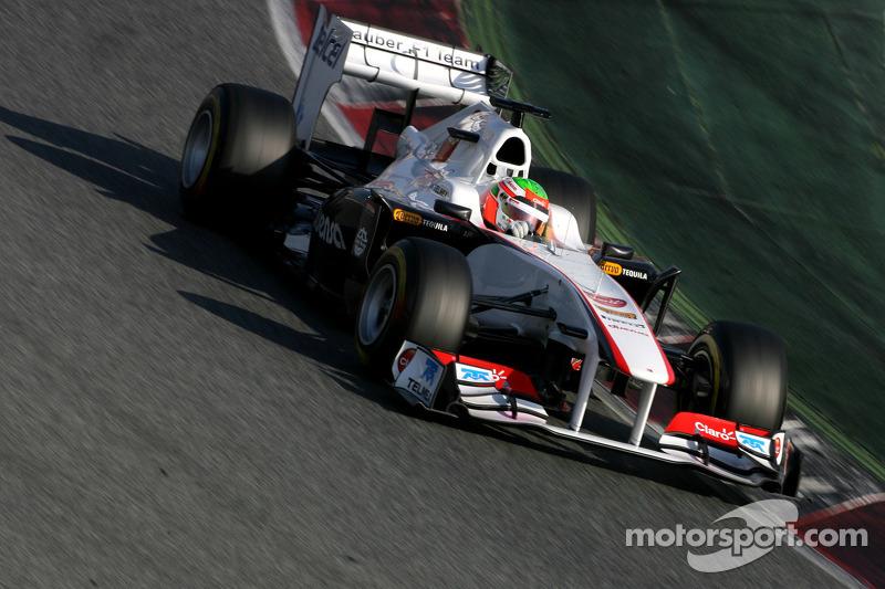 Sauber Barcelona test report 2011-03-10