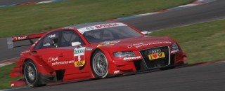 DTM Audi splashes color in the DTM