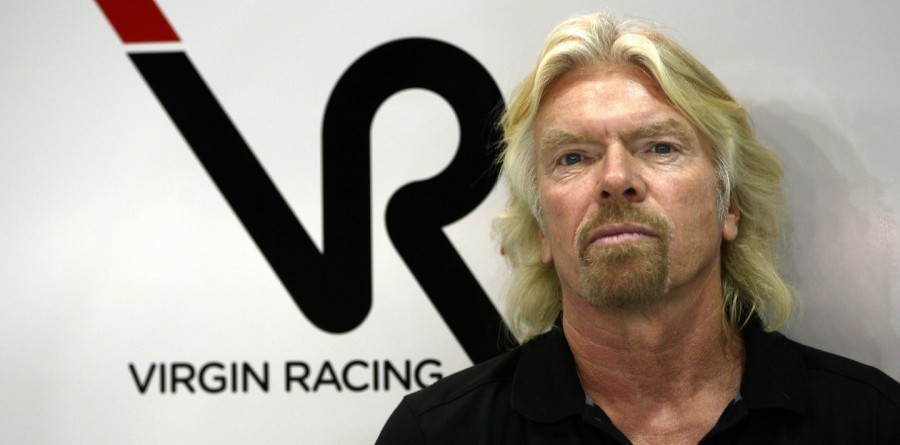 Stewardess Branson to finally honour losing bet