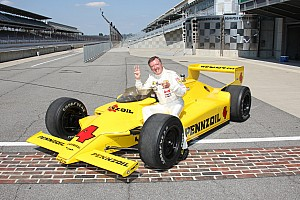 IndyCar IMS: 100th Anniversary notebook 2011-04-19