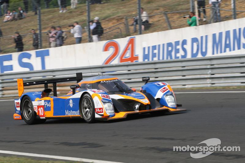 Team ORECA-Matmut Le Mans test report