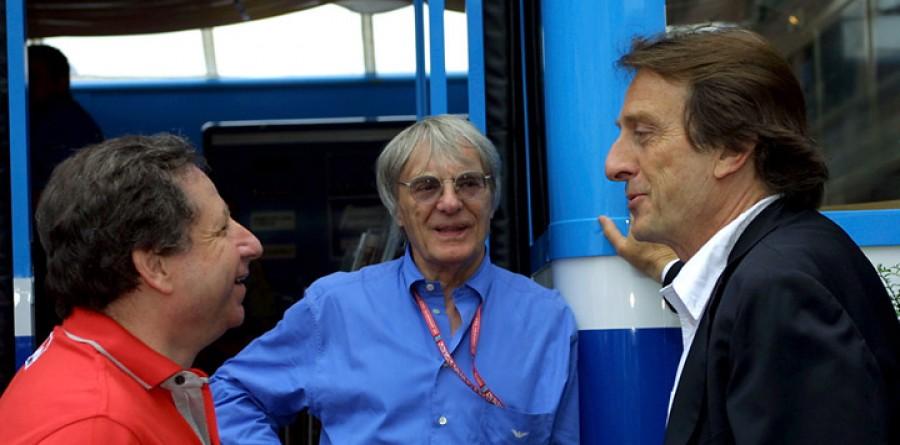 Ecclestone says no takeover talks with Ferrari