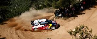 WRC Loeb On Par For Rally d'Italia Sardegna Victory
