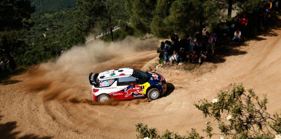 Loeb On Par For Rally d'Italia Sardegna Victory