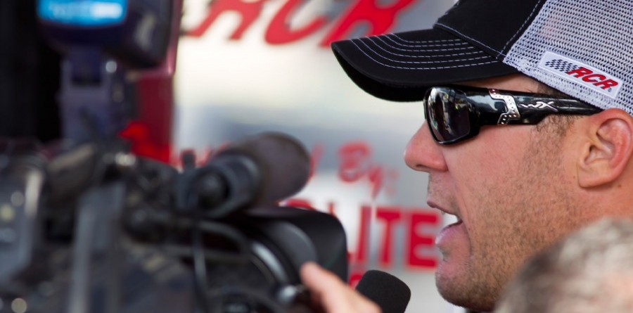 Kevin Harvick - Dover Friday media visit