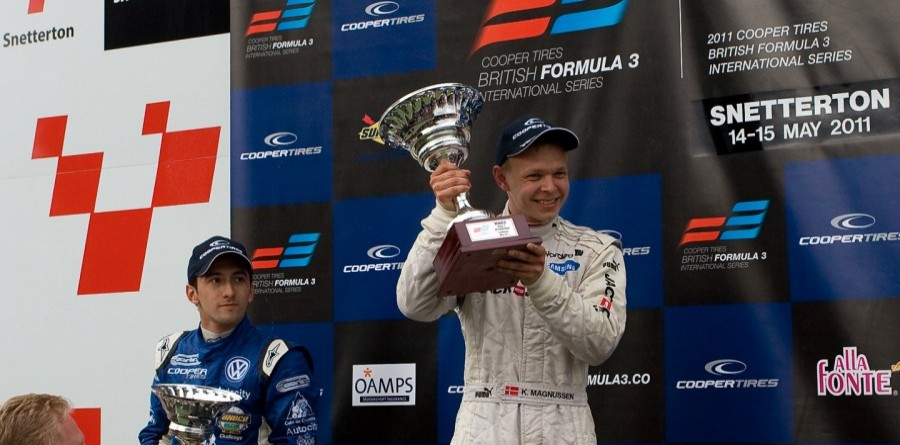 Magnussen earns the Feature race victory at Snetterton