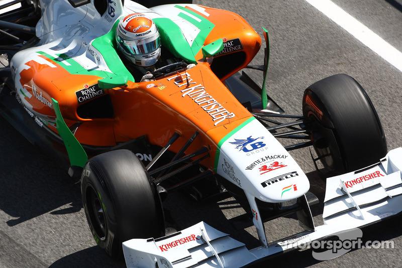 Force India Spanish GP Race Report