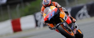 MotoGP Stoner on a different planet in Spain