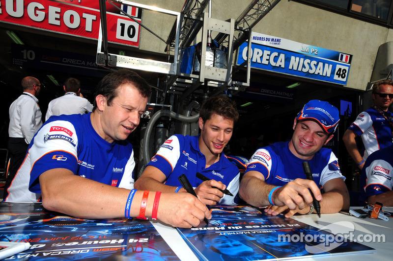 ORECA-Matmut Le Mans Wednesday Report