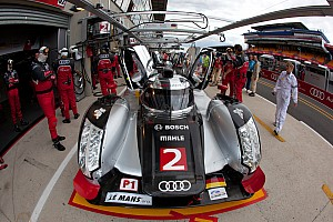 Le Mans Audi Le Mans Wednesday Report